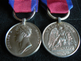 WATERLOO MEDAL FULL SIZE REPLACEMENT COPY